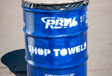 {Shop Towel Recycle Program}